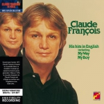cover vinyl replica deluxe - claude francois - his hits in english (avec cavalier)
